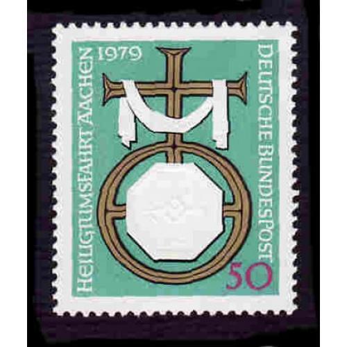 German MNH Scott #1297 Catalog Value $.60