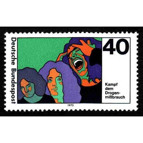 German MNH Scott #1200 Catalog Value $.40