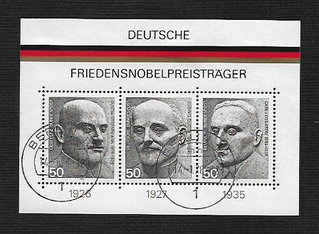 German Used Scott #1203 Catalog Value $2.00