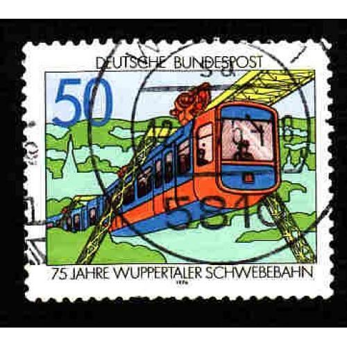 German Used Scott #1210 Catalog Value $.30
