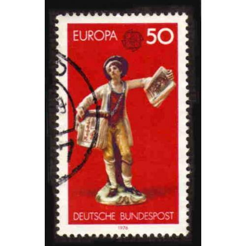 German Used Scott #1212 Catalog Value $.25
