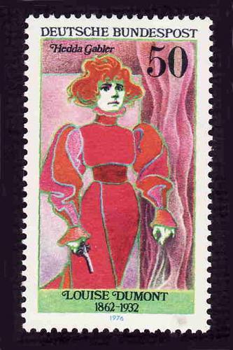 German MNH Scott #1227 Catalog Value $.70