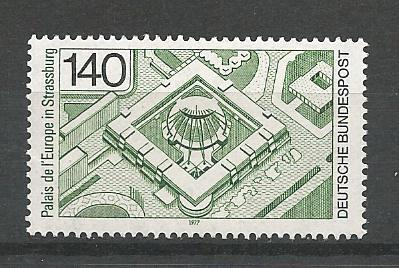 German MNH Scott #1229 Catalog Value $1.75