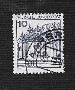 German Used Scott #1231 Catalog Value $.25