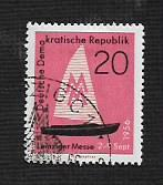 Germany DDR Used Scott #306 Catalog Value $.30