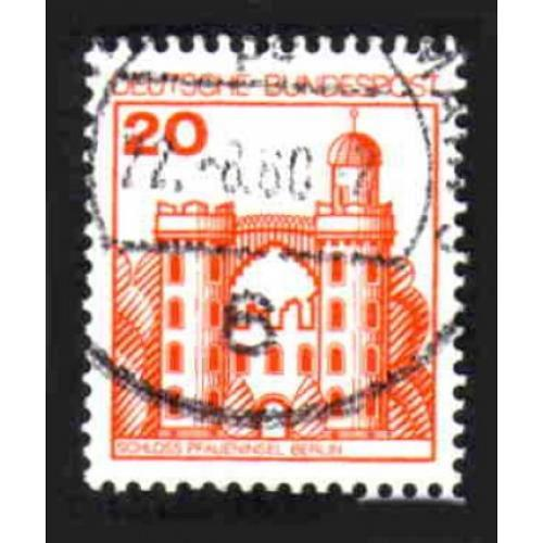 German Used Scott #1232 Catalog Value $.25