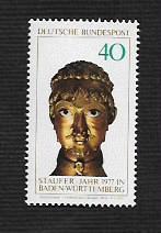 German MNH Scott #1247 Catalog Value $1.25