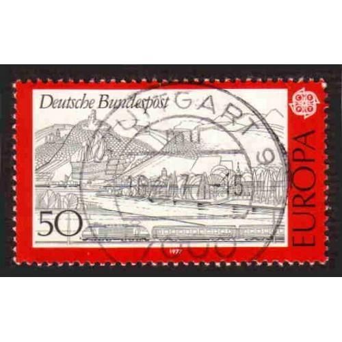 German Used Scott #1249 Catalog Value $.25
