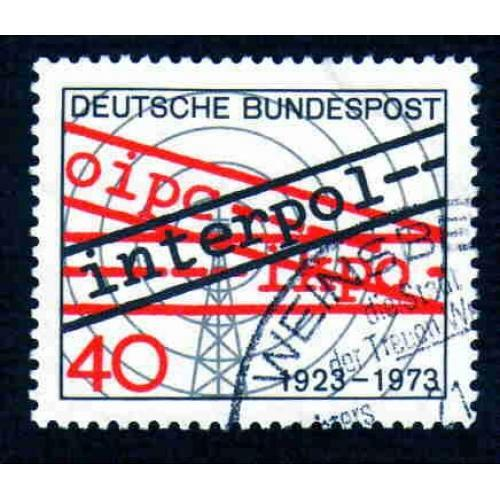 German Used Scott #1103 Catalog Value $.30