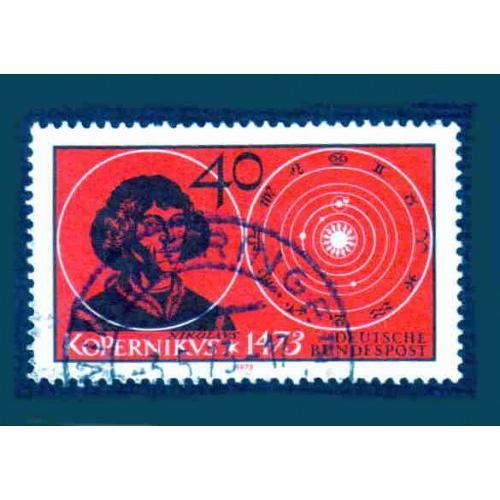German Used Scott #1104 Catalog Value $.30