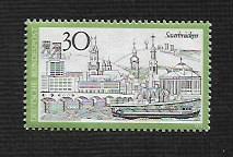 Germany Hinged Scott #1106 Catalog Value $.50