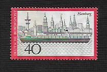 Germany Hinged ng Scott #1107 Catalog Value $.50
