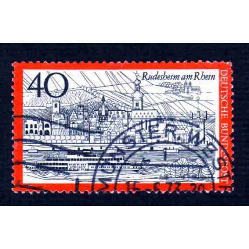 German Used Scott #1108 Catalog Value $.25