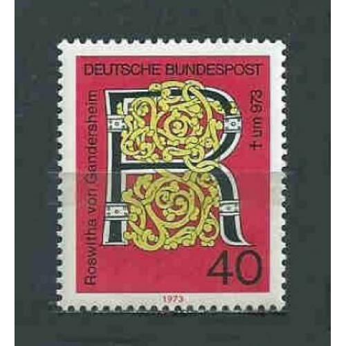 Germany Hinged Scott #1117 Catalog Value $.45