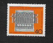 German MNH Scott #1123 Catalog Value $.65