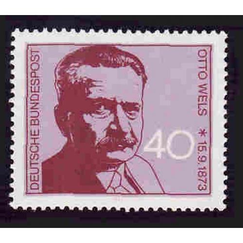 German MNH Scott #1124 Catalog Value $.70