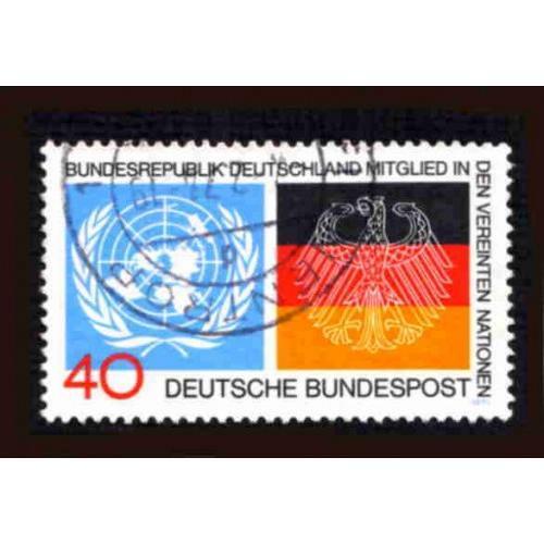 German Used Scott #1126 Catalog Value $.30