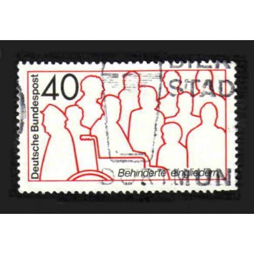 German Used Scott #1133 Catalog Value $.30