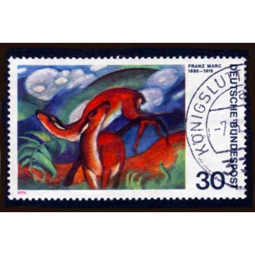German Used Scott #1135 Catalog Value $.25