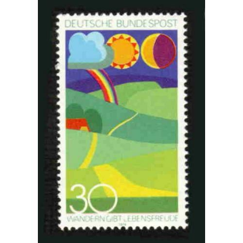 German MNH Scott #1149 Catalog Value $.40