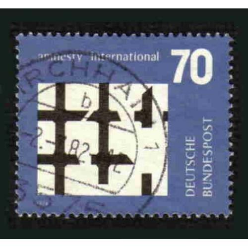 German Used Scott #1150 Catalog Value $.45