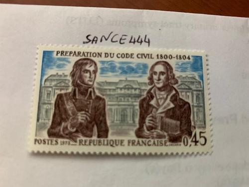 France Civil code mnh 1973