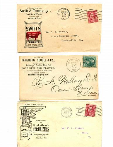 Fertilizers - 2 Booklets (1910 & 1912) - 1880s