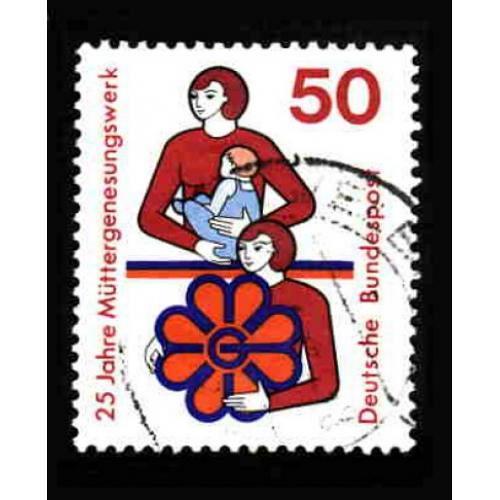 German Used Scott #1154 Catalog Value $.30