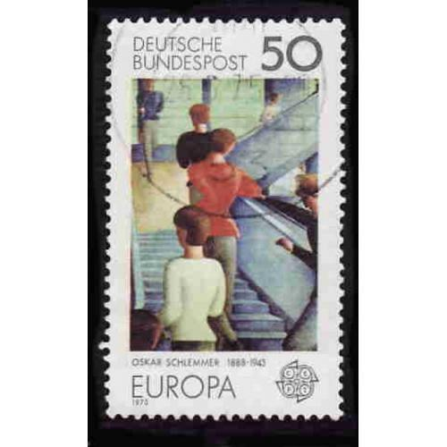German Used Scott #1165 Catalog Value $.25