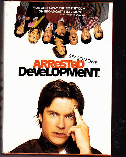 Arrested Development - Complete 1st Season DVD 2009, 3-Disc Set - Very Good