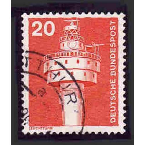 German Used Scott #1172 Catalog Value $.25