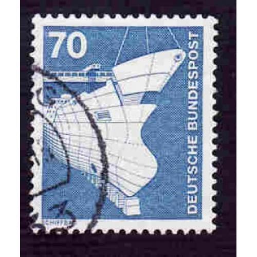 German Used Scott #1177 Catalog Value $.25