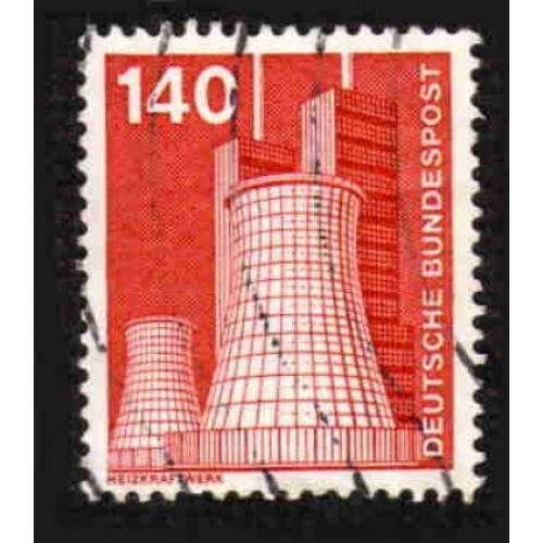 German Used Scott #1183 Catalog Value $.40