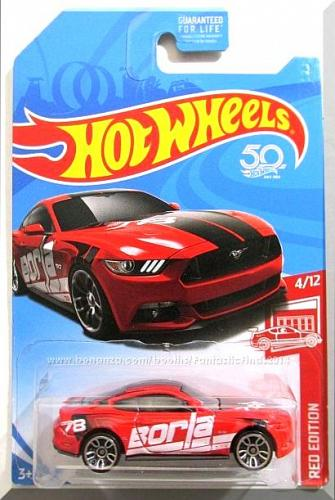 Hot Wheels - 2015 Ford Mustang GT: Red Edition #4/12 (2018) *Target Exclusive*