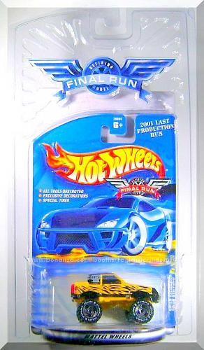 Hot Wheels - Gulch Stepper: Final Run #3/12 (2001) *Yellow Edition / Retired*