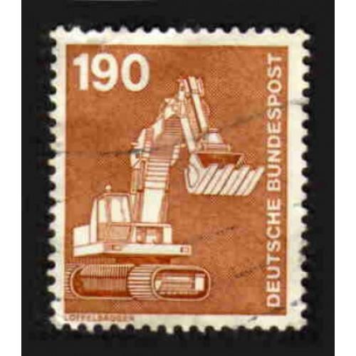 German Used Scott #1187 Catalog Value $.60