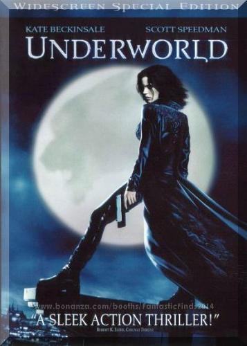 DVD - Underworld (2003) *Kate Beckinsale / Vampires / Werewolves*