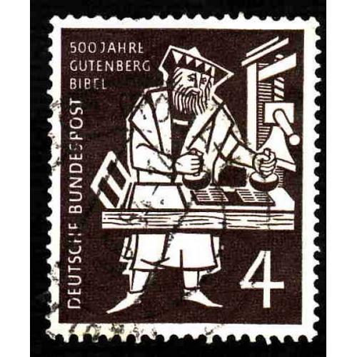 German Used Scott #723 Catalog Value $.65