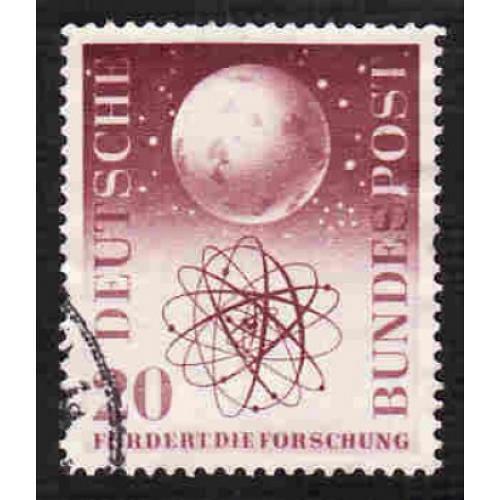 German Used Scott #731 Catalog Value $1.00