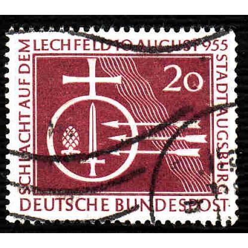 German Used Scott #732 Catalog Value $3.25
