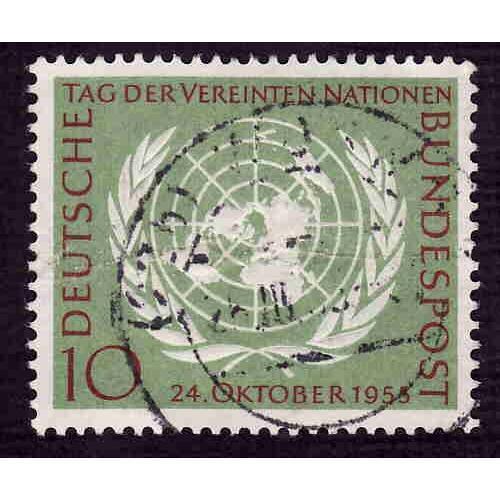 German Used Scott #736 Catalog Value $4.00