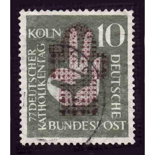German Used Scott #750 Catalog Value $2.75