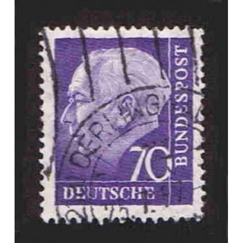 German Used Scott #759 Catalog Value $.45