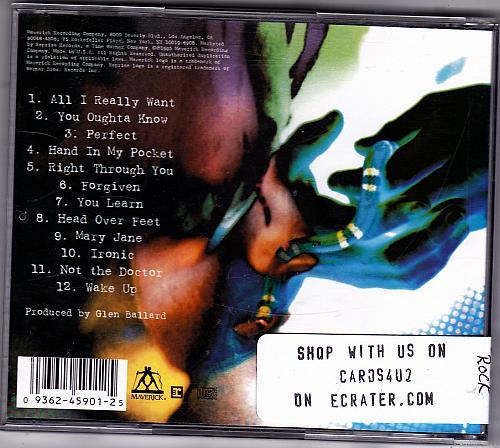 Jagged Little Pill by Alanis Morissette CD 1995 - Very Good