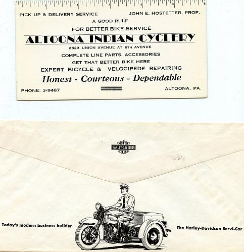 Motorcycles & Bicycles -12 Items - 1890s - 1960 - See Scans