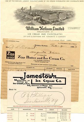 Ice Cream & Ice - Great Jell-O Ice Cream Powder