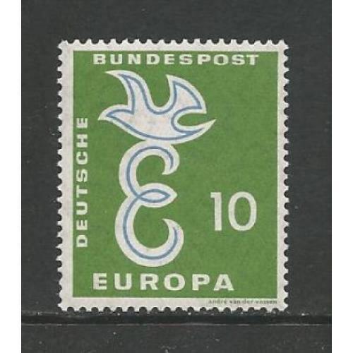 German MNH Scott #790 Catalog Value $.40