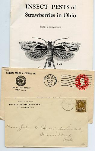 Insect & Vermin Extermination & More - 1910s -1955