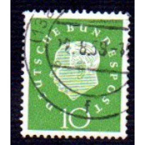 German Used Scott #794 Catalog Value $.25