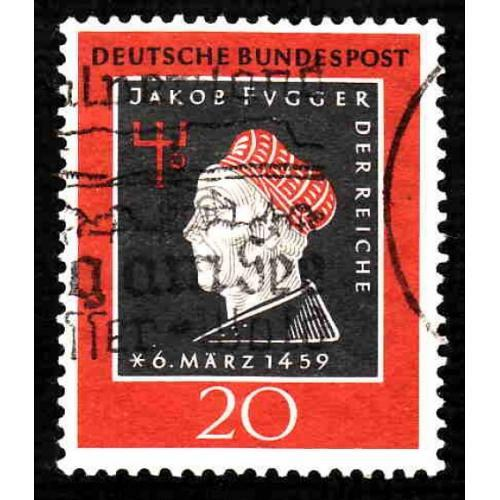 German Used Scott #798 Catalog Value $.45